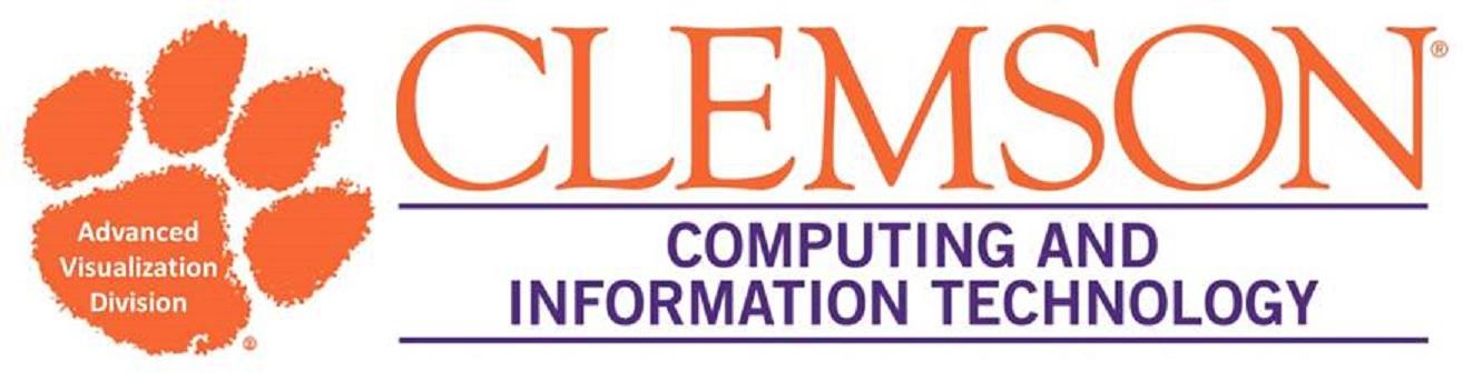Clemson Visualization Division Logo